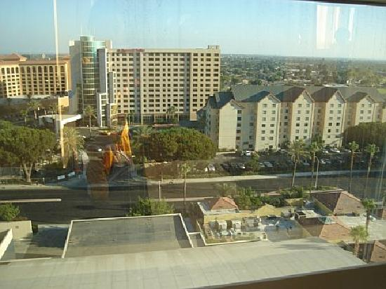 View From Our Room Picture Of Hyatt Regency Orange County Garden Grove Tripadvisor