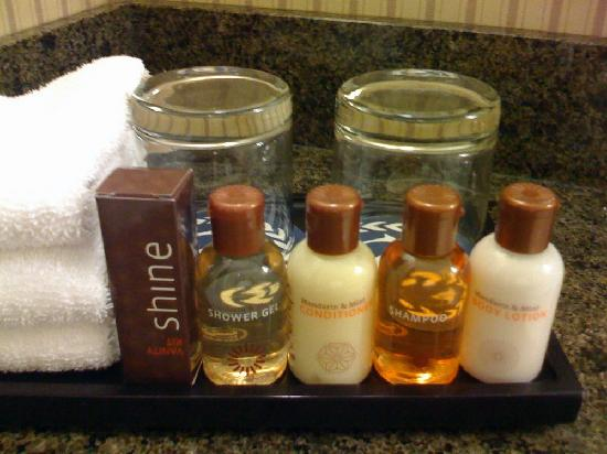 Sheraton Sonoma County - Petaluma: Nice bath products