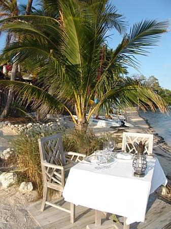 Private dining at Little Palm Island - Picture of The Dining Room ...
