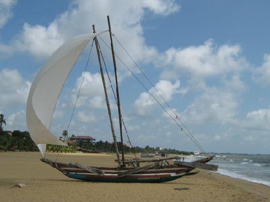 Jetwing Beach: Fishing Boat On The Beach