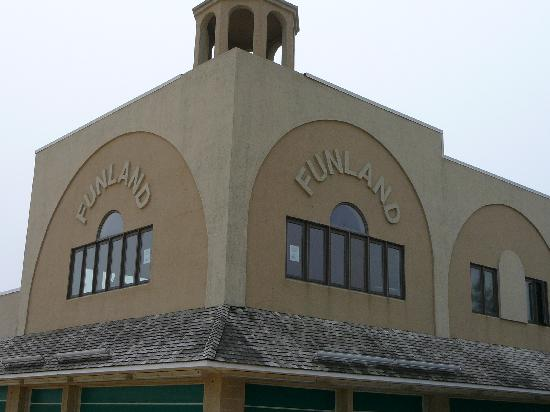 Funland Building Exterior