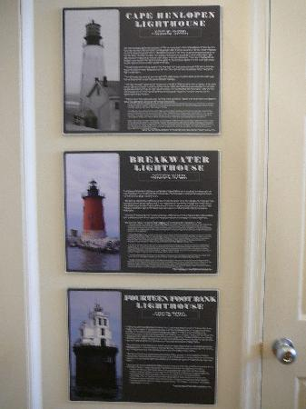 More on lighthouses at the Zwaanendael Museum