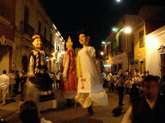 Parador Del Dominico: Festa popular em Oaxaca