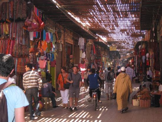 Riad Slawi: Souks of Marrakech