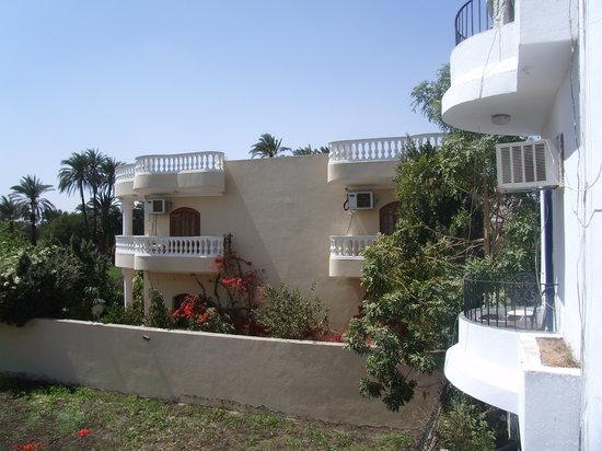 El Gezira Hotel : Vue depuis notre chambre