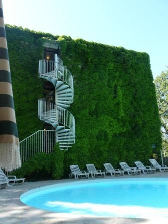 Villa Borghese: la piscine