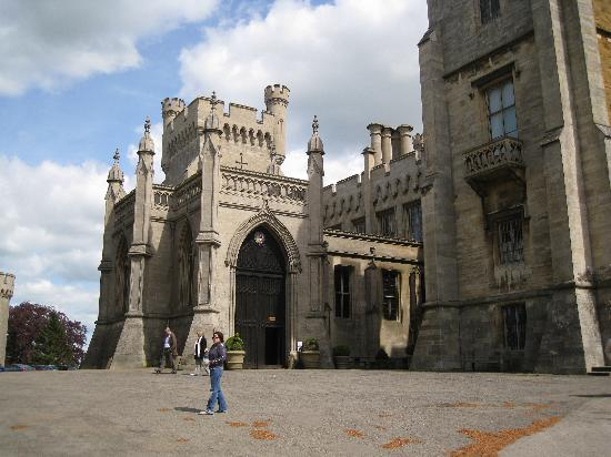 Entrance to belvoir castle