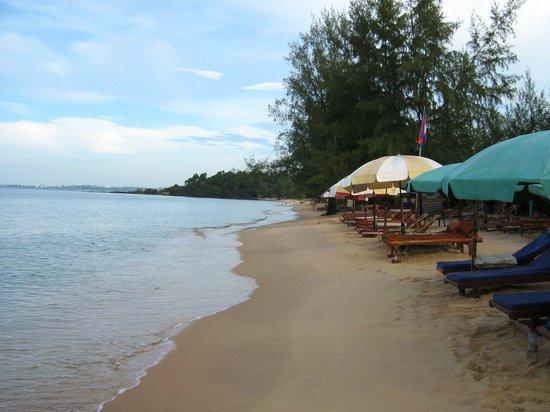 Sihanoukville, Kambodja: Otres beach