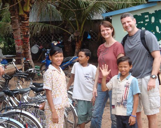 Quad Adventure Cambodia Siem Reap: orphanage - the kids were wonderful