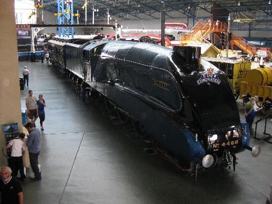 พิพิธภัณฑ์รถไฟแห่งชาติ: The Mallard
