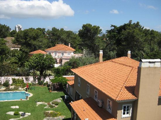 Grande Real Villa Italia Hotel & Spa: view from our balcony