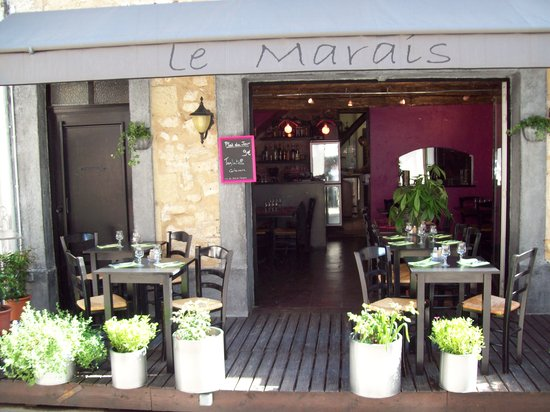 Le Marais : la terrasse