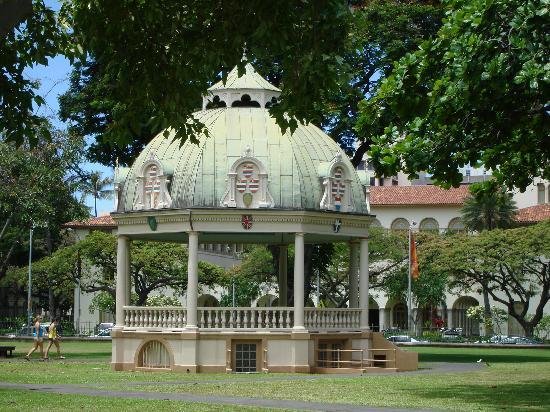 Iolani Palace: Gazebo
