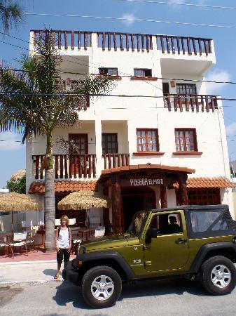 Hotel el Moro: Front of the Hotel