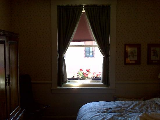 Hotel La Rose: Window of 3rd floor room