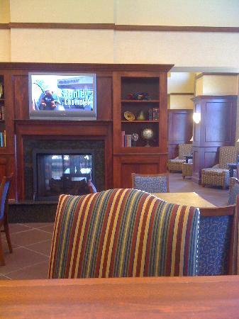 Hampton Inn & Suites Indianapolis-Airport: lobby
