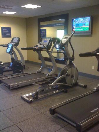 Hampton Inn & Suites Indianapolis-Airport: gym 1