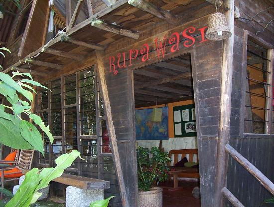 Rupa Wasi  Lodge: The main office