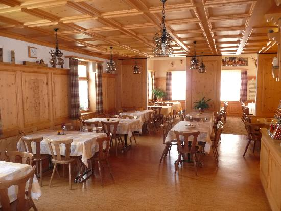 Lumbrein, Швейцария: The dining room at Pez Regina