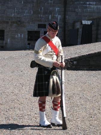 แหล่งประวัติศาสตร์แห่งชาติซิทาเดล: 78th Highlander Guard