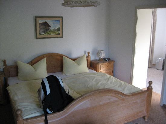 Hotel Hilleprandt: the bedroom