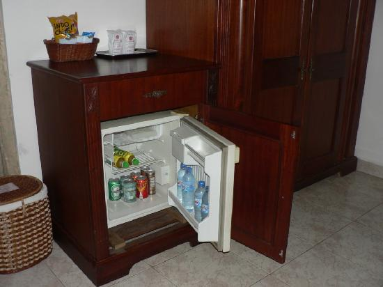 Tan Son Nhat Hotel: The mini bar