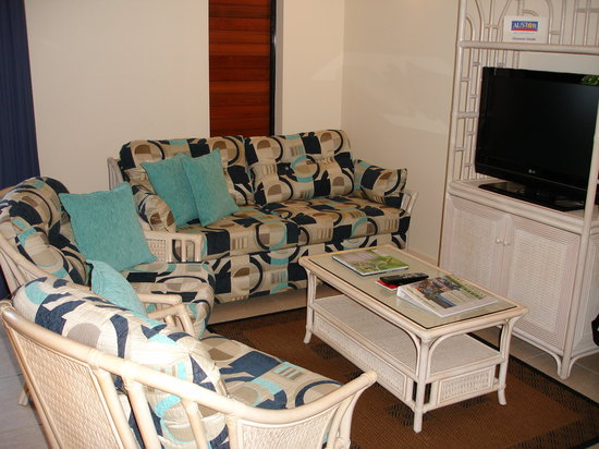 Freestyle Resort Port Douglas: Living room area