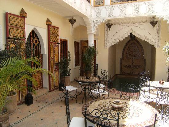 Riad Sofia: intérieur du Riad