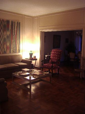 B&B Plaza Italia : Common lounge room