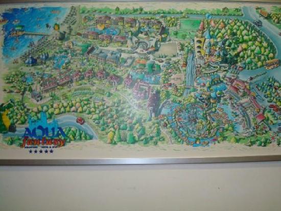 Map Of The Hotel Picture Of Aqua Fantasy Aquapark Hotel Spa Selcuk Tripadvisor