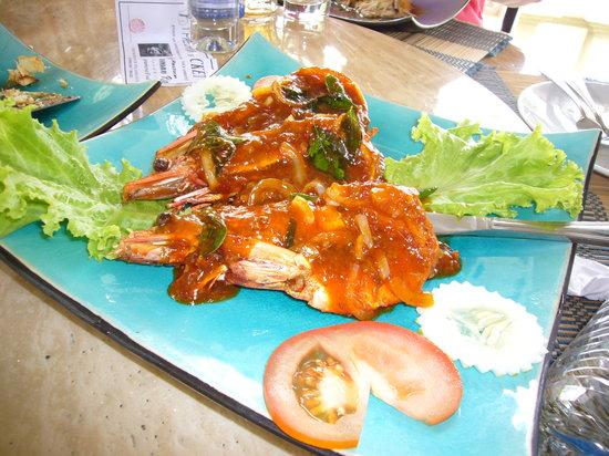 Laman Ria: Delicious chilli prawns
