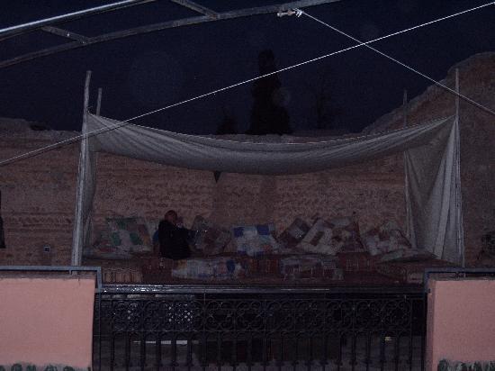 Riad Al Rimal: terrasse