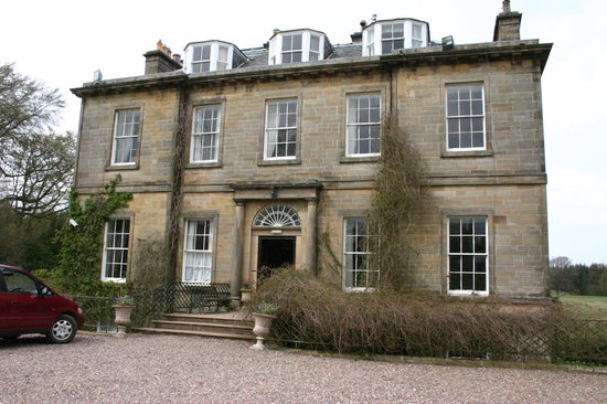 West Calder, UK: Front of Harburn House