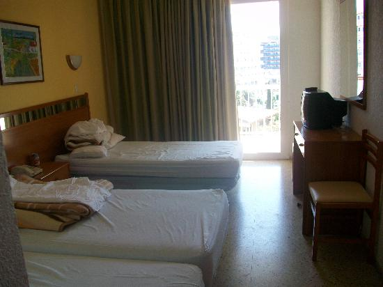 Hotel President : our room
