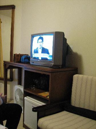 Pousada Aguia Branca: room tv