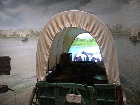 National Historic Trails Interpretive Center: See and feel what it was like to cross the North Platte River in a pioneer wagon.