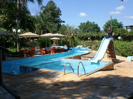 Back swimming pool