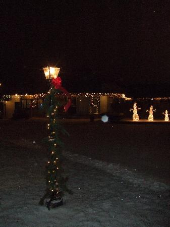 The Shaker Inn: Christmas lights