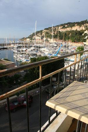 Hotel de la Darse: View from balcony