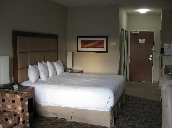 Best Western Plus Peppertree Inn at Omak: king bed