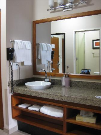 Best Western Plus Peppertree Inn at Omak: single bath (king room)