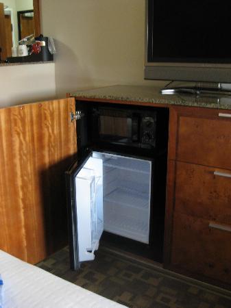 BEST WESTERN PLUS Peppertree Inn at Omak: Microwave and mini refridgerator