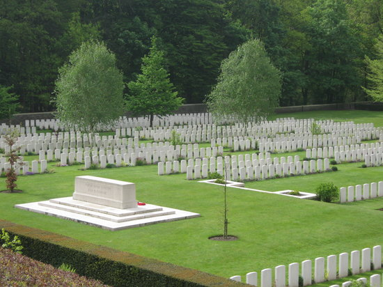 Ieper (Ypres), Belgium: Polygon Wood