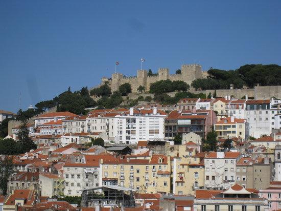 Lisboa, Portugal: Chateau Sao Jorge