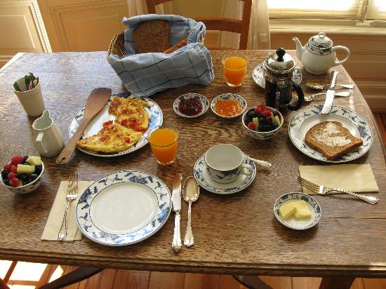 Amsterdam Bed and Breakfast: Yummy!