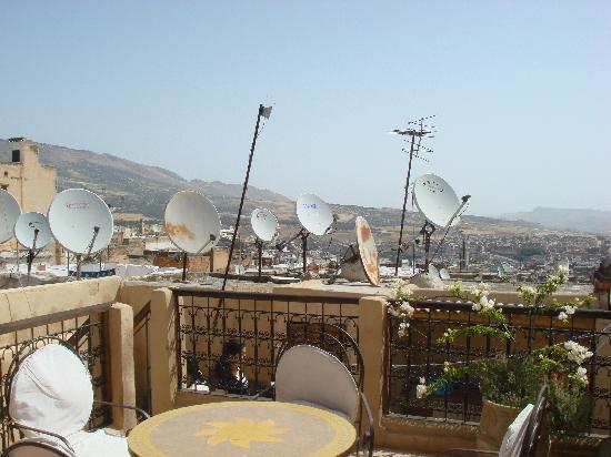 Espace Aum: Rooftop patio