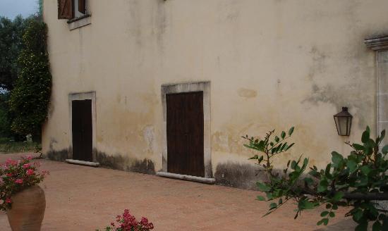 Case del Feudo Hotel : Terrasse toujours   ranger ????
