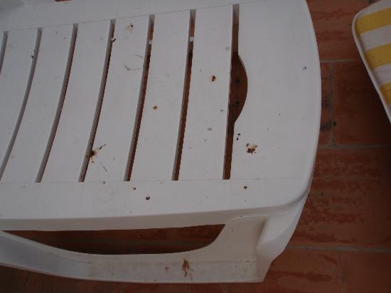 Case del Feudo Hotel : Propreté   chaise  longue ???