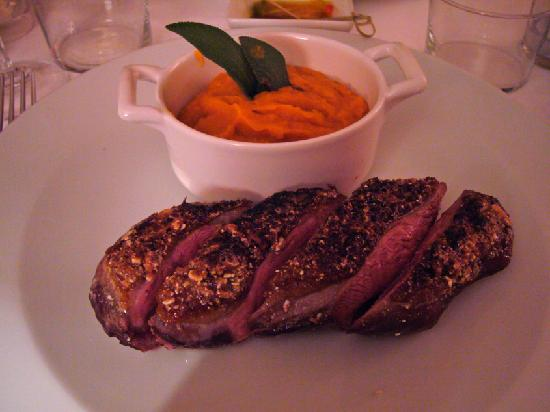 Le Cinq: Main - Duck breast served medium-rare