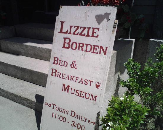 Lizzie Borden House: The Museum is also a B&B